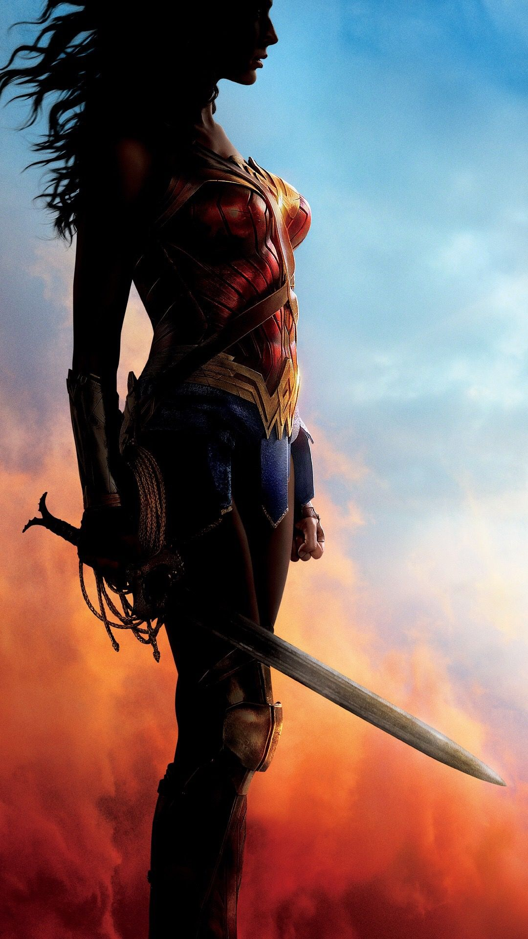 Wonder Woman 2017 IPhone 6 Wallpaper