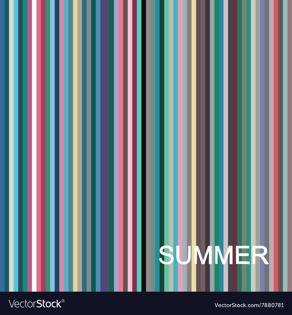 Stock vector seasonal color analysis palette for summer type. Type of female