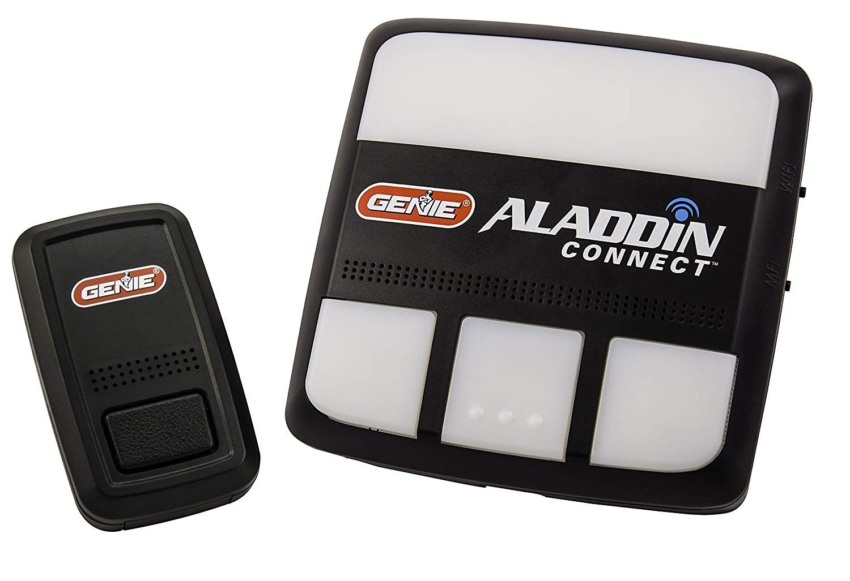 Genie Alkt1 R Aladdin Connect Smartphone Garage Door Opener A Monitor Open And Close Your Garage Door From Anywhere Garage Door Opener Garage Doors Genies