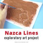 Fun idea for hhm and learning about Peruvian culture history A little messy but I love that it models the way the Nazca lines were formed Plus enter the mkbhhm giveaway to win all kinds of Spanglish goodiesteachersofinstagram mkbkids crafting homeschoolfun history kidscraft latinokids peru culturaperuana teachersfollowteachers spanishteacher spanishclass flteach