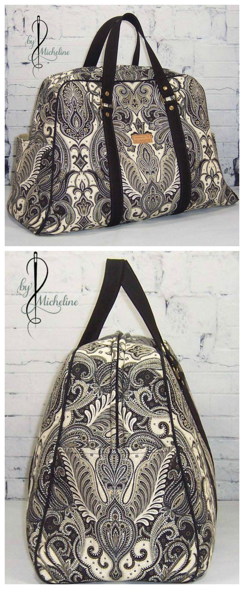 Vivian Handbag & Traveler | Nähen, Diy tasche und selbstgemachte Taschen