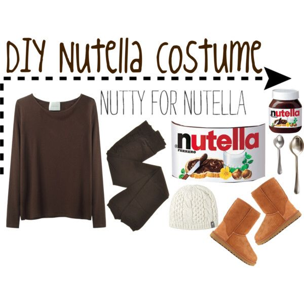 Nutella Costumes CostumeDream Closet Food Diy bf6yYgm7Iv