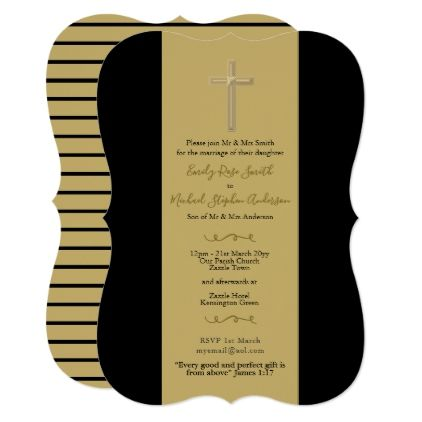 Black gold catholic wedding invites bible verse wedding black gold catholic wedding invites bible verse wedding invitations cards custom invitation card design marriage stopboris Choice Image
