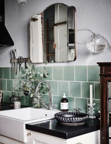 Trend Watch Fliesen \ Co Vintage kitchen, Third and Learning - fliesen für die küche