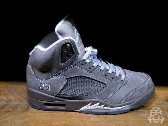 Jordan 5 Wolf Shoes Sneakers Nike Fancy Shoes Shoes