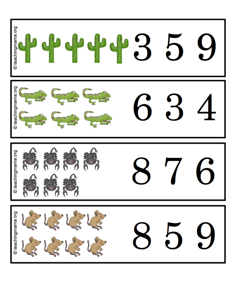 Desert Animal Printables desertlife desert worksheets for