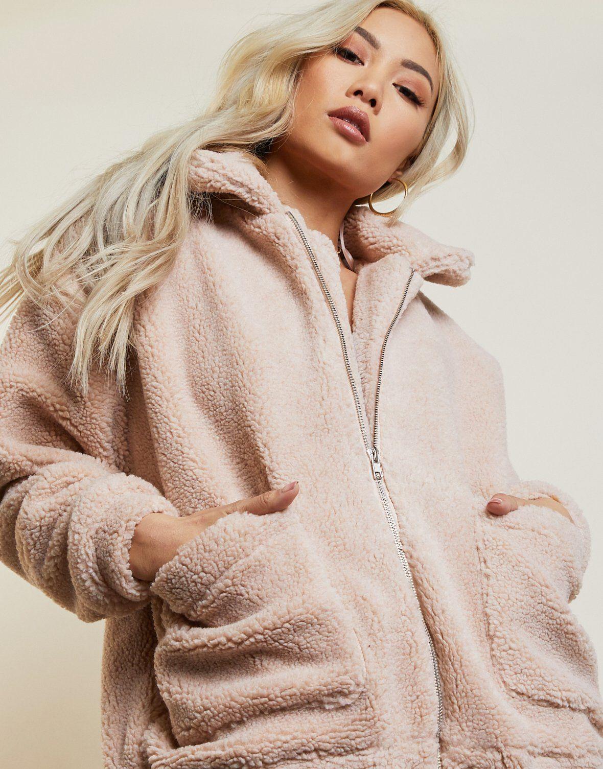 Must Have Oversized Sherpa Coat Outerwear Women Autumn Jacket Women Fall Outerwear Women [ 1505 x 1180 Pixel ]