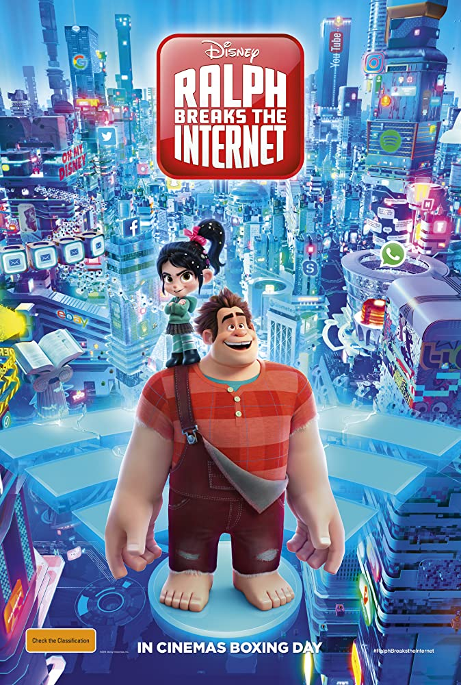 Ralph Breaks The Internet In 2020 Wreck It Ralph Full Movies Online Free 2018 Movies