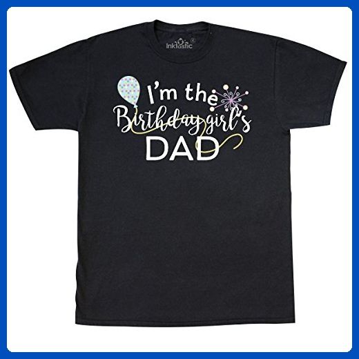 d0fc210c3 Inktastic - I'm the Birthday Girl's Dad T-Shirt Large Black - Relatives and  family shirts (*Amazon Partner-Link)