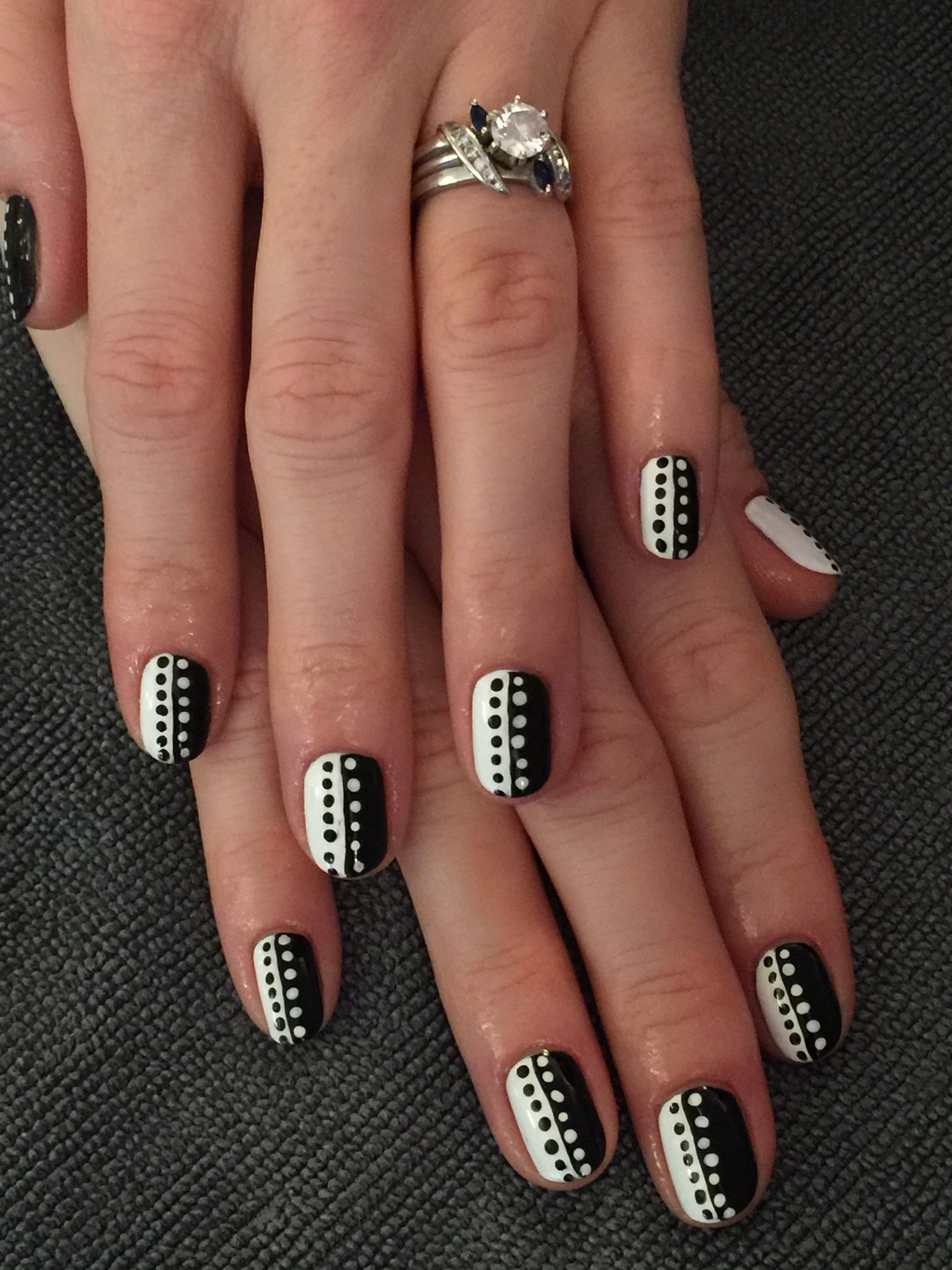 Indy 500 manicure | Seas the Day Nail Spa nails | Pinterest | Nail ...