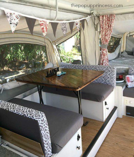 Teresa S Pop Up Camper Remodel The Pop Up Princess Remodeled