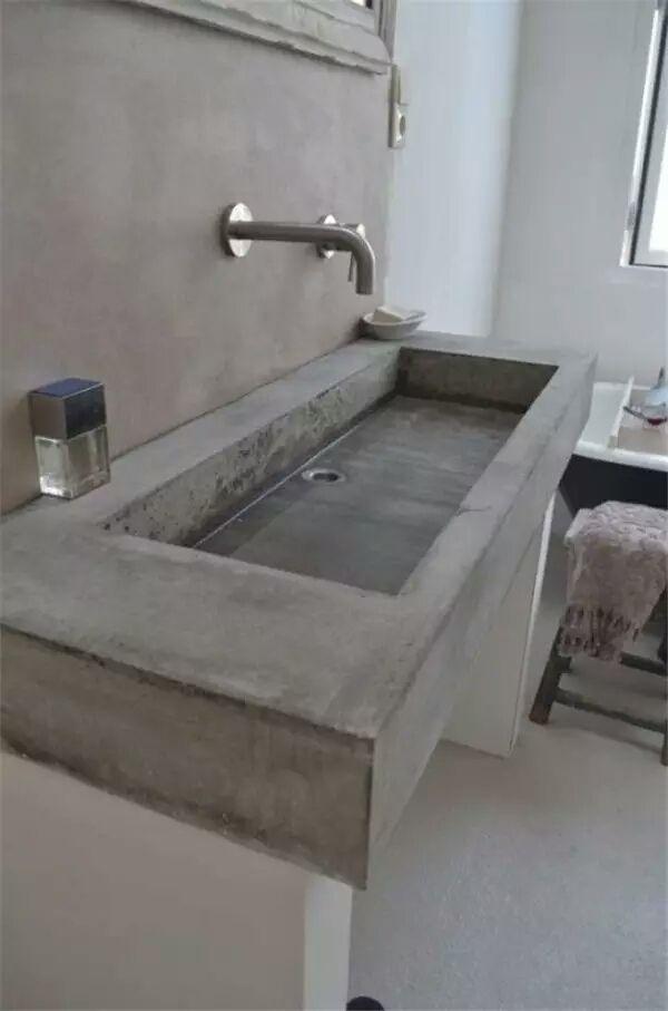 41 concrete bathroom design ideas to