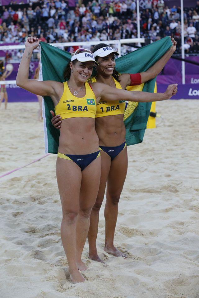Women S Beach Volleyball Bronze For Brazil Beach Volleyball Swedish Women Women