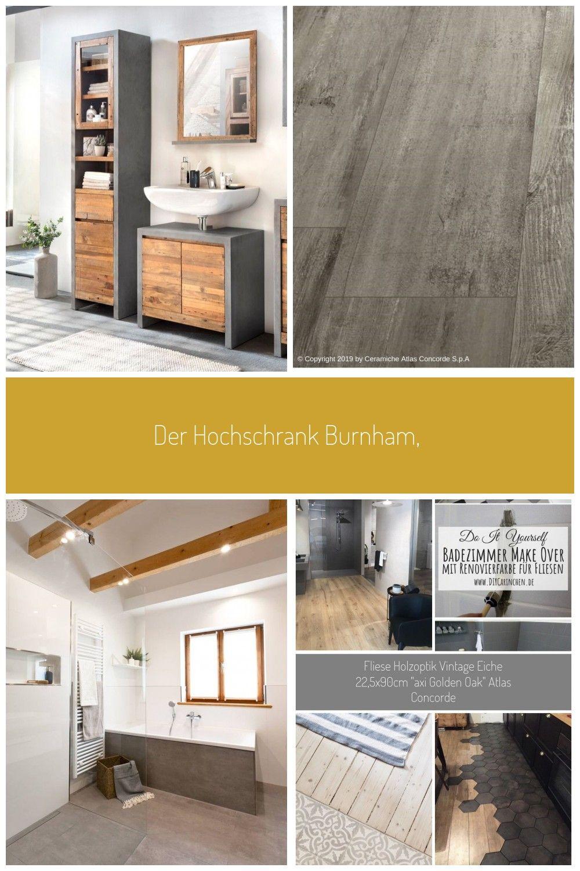 Der Hochschrank Burnham Modern Abgestimmtes Badmobel Fur Ihre