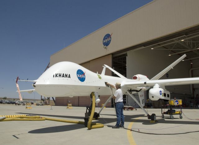 Photo of NASA's Ikhana MQ-9 drone flies with ADS-B equipment for the first time