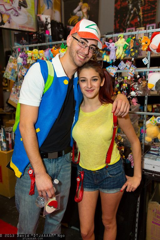 Ash Ketchum and Misty (from Pokemon) #cosplay NYCC 2013 Cosplay - mens halloween costume ideas 2013