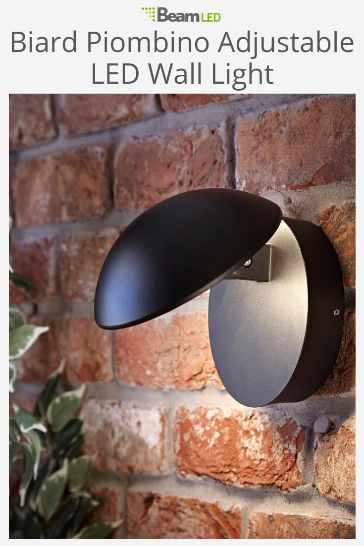 Biard piombino ip adjustable led outdoor wall light outdoor