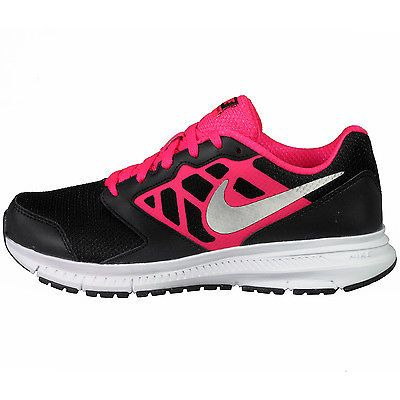the best attitude 45cb1 1e603 NIKE DOWNSHIFTER 6 GS BIG KIDS 685167-001 Black Pink Running Shoes Youth Sz  7