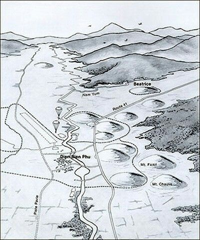 Dien Bien Phu Vietnam Map.Dien Bien Phu Battle Map Pin By Paolo Marzioli Book Series Ideas