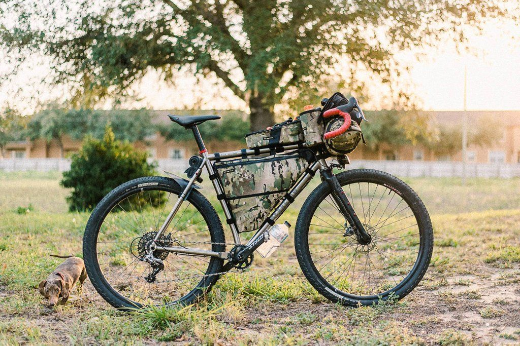 Bearclaw Beaux Jaxon Loaded For The Tour Divide Bikepacking
