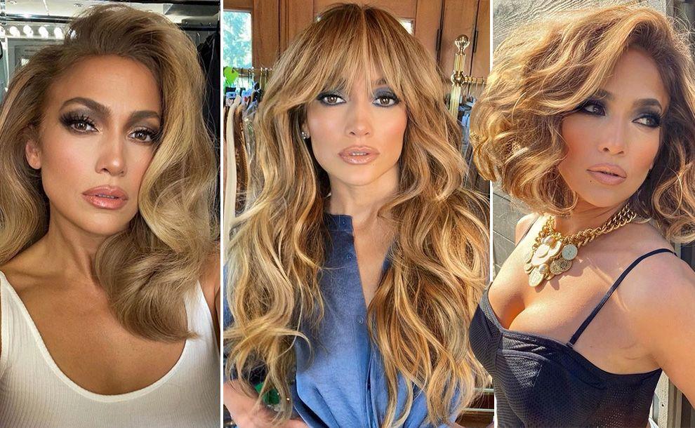 Jennifer Lopez, le tendenze capelli da copiare per l'autunno 2020 – iO Donna