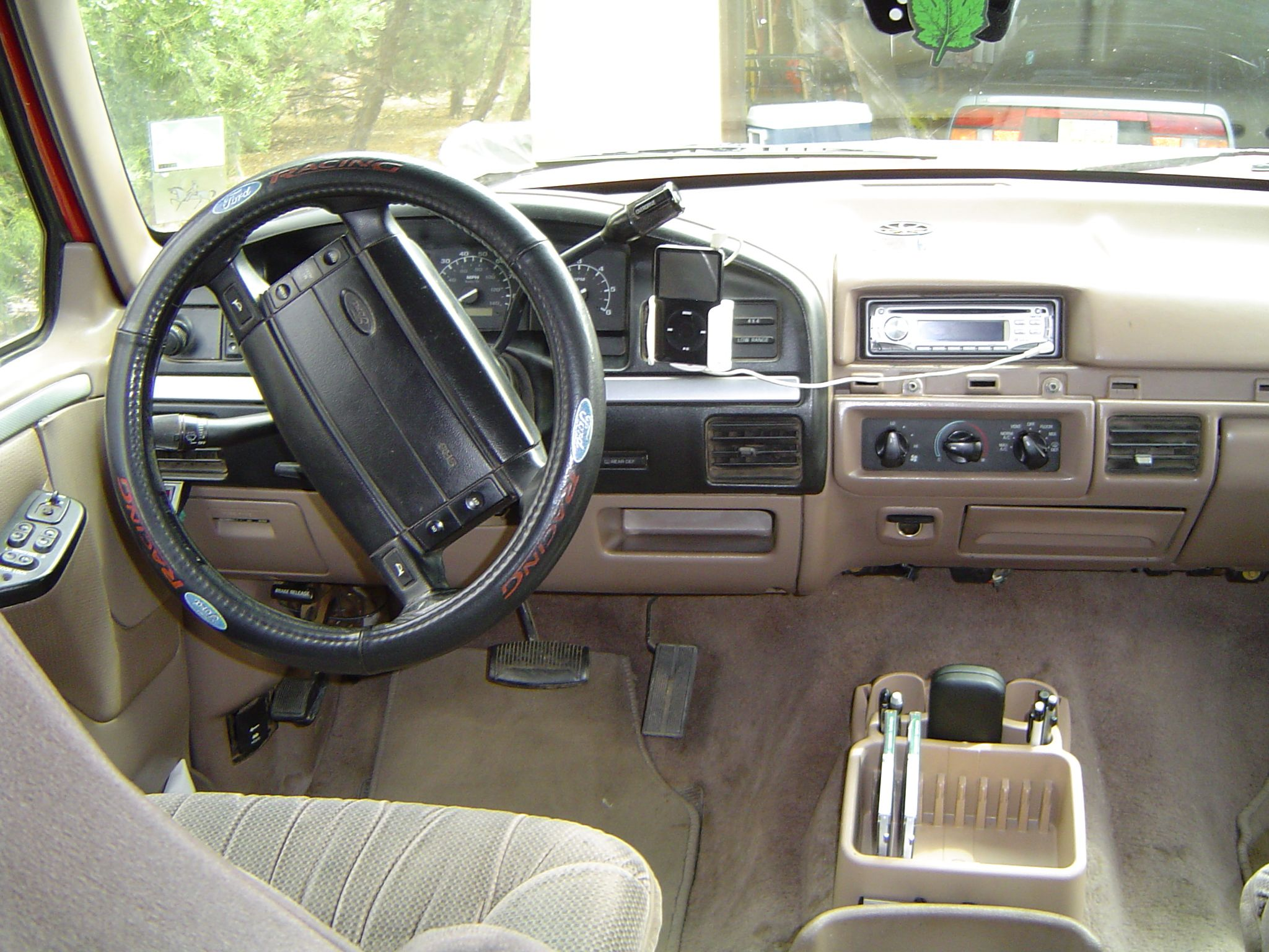 Tan Interior Ford Bronco Showing Dash Classic Ford Broncos Ford