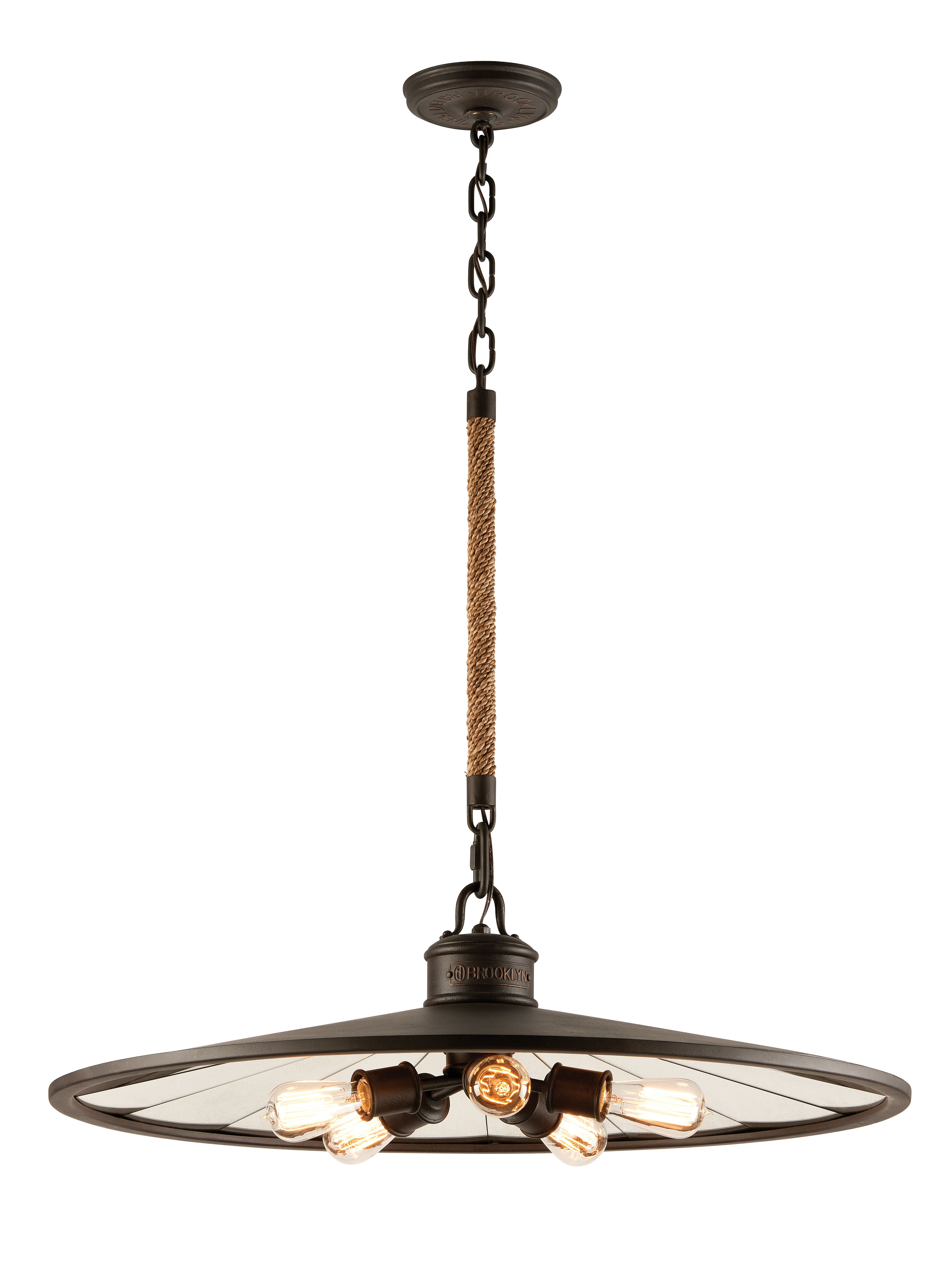 Brooklyn by Troy Lighting Available at Mayer Lighting Showroom