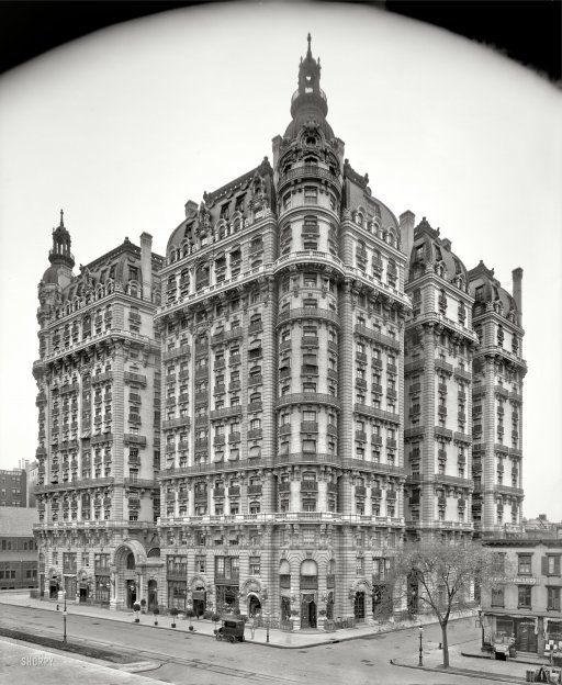 "Apartments Manhattan Ny: Circa 1906. ""Ansonia Apartments, 73rd St & Broadway, New"