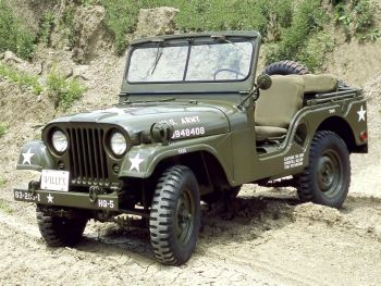 Willys M38A1 Jeep '1952–57 | FCA = FIAT CHRYSLER AUTOMOBILE ...