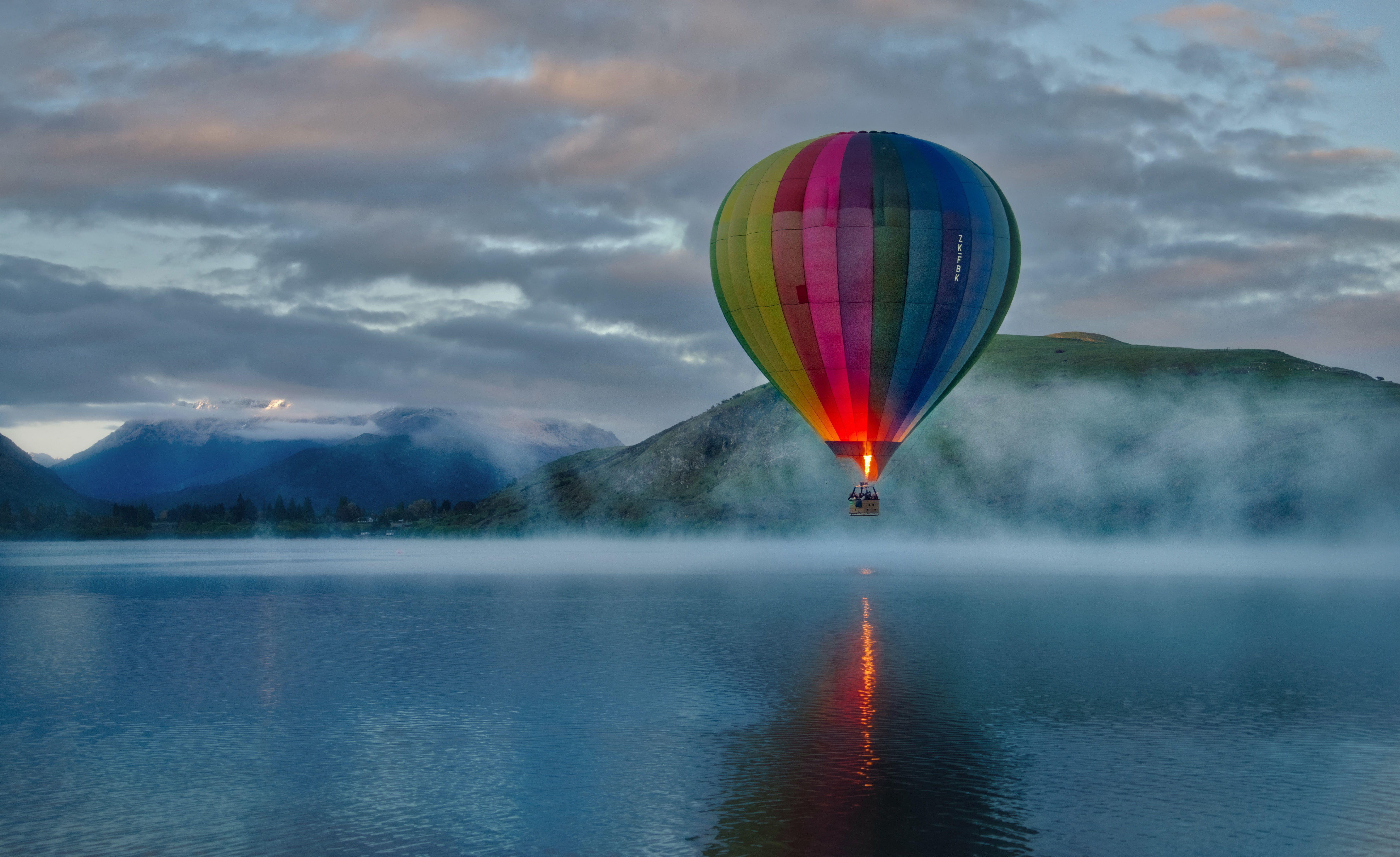 8k Hot Air Balloon 4k 5k Wallpaper Hdwallpaper Desktop Hot Air Balloon Air Balloon Nature Wallpaper