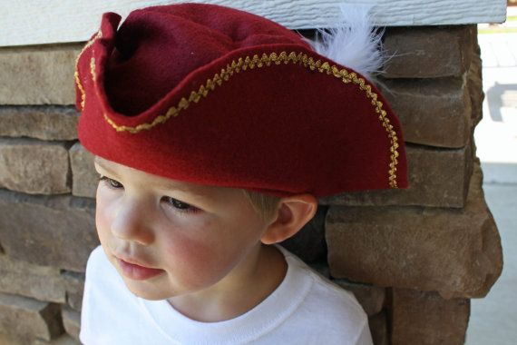 RESERVED  Pirate Party Pirate Hat and Hook SET Kids Dress Up