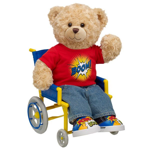 Image result for wheelchair bear