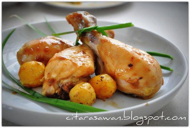 Resipi Citarasawan Koleksi Resepi Kakwan Ayam Panggang Masakan Makanan