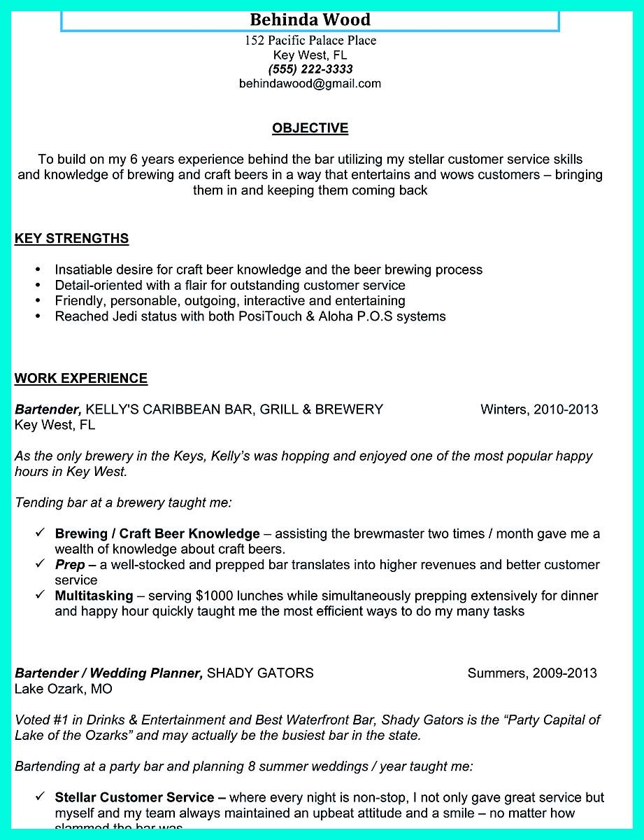Cool Cocktail Server Resume Skills To Convince Restaurants Or Cafe Resume Writing Examples Resume Skills Resume Writing Services