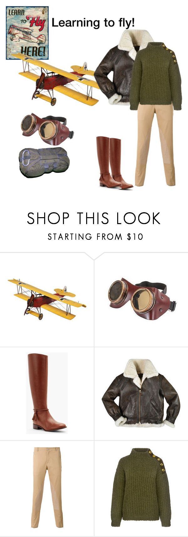 """""""Learning to fly!"""" by chauert ❤ liked on Polyvore featuring Talbots, Alexander McQueen and Boutique Moschino"""