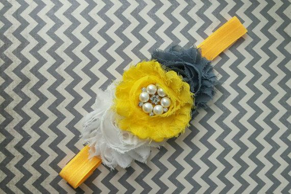 Hey, I found this really awesome Etsy listing at https://www.etsy.com/listing/232375483/shabby-chic-headband-grey-white-and