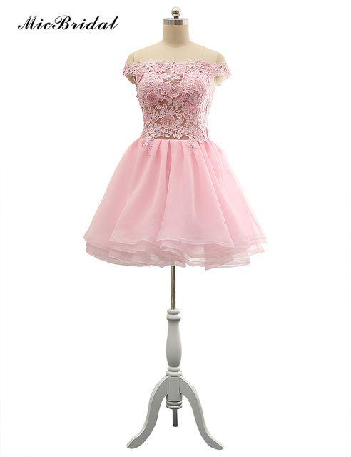 MicBridal Baratos Curtos Vestidos de Baile para Adolescentes ...