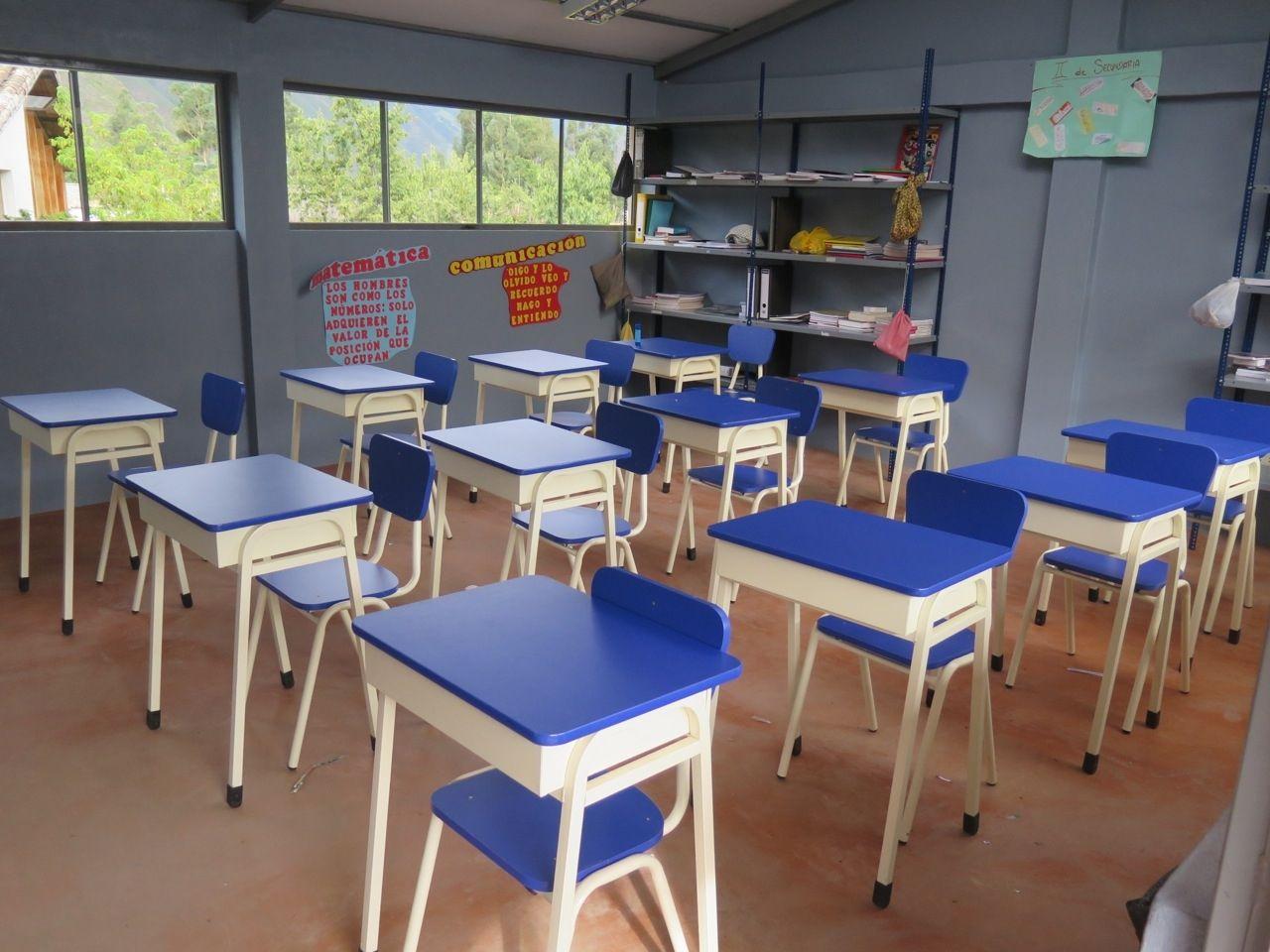 Primary School Desks And Chairs School desks, Primary