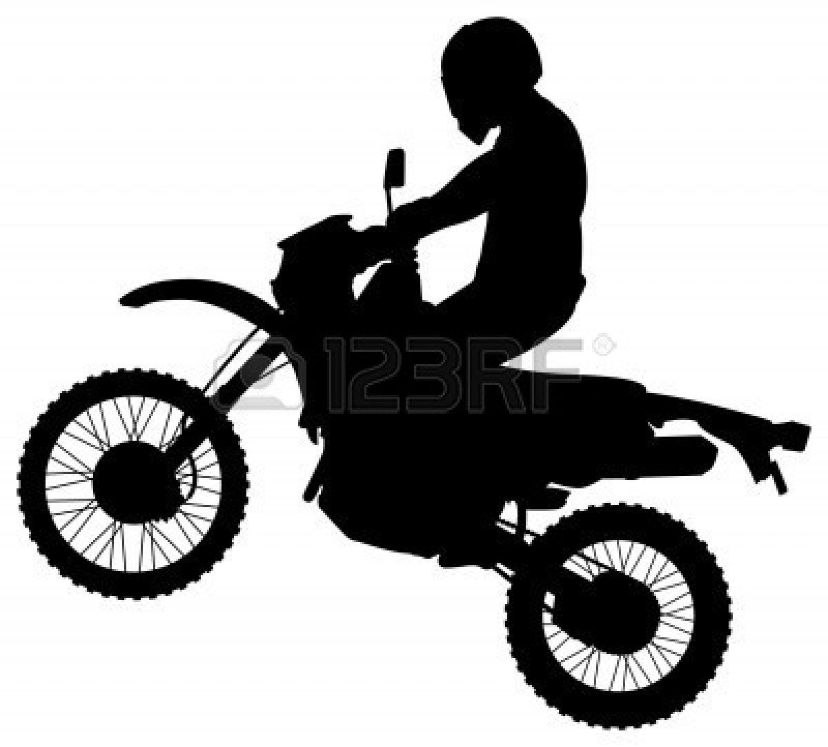 Dirt Bike Clipart Black And White Clipart Panda Free Clipart Bike Silhouette Clipart Black And White Free Clip Art