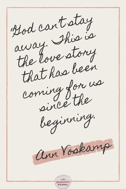 Favorite Ann Voskamp Quotes