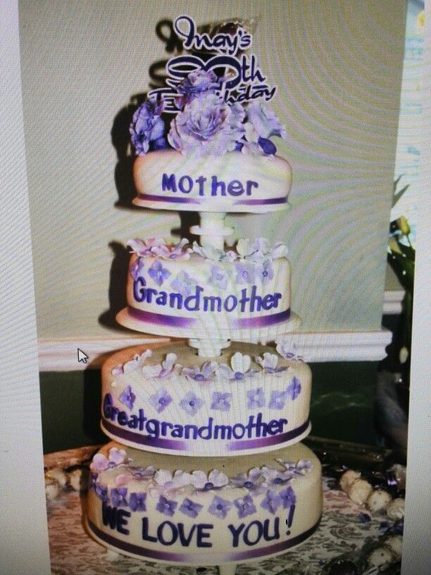 1000 ideas about 90th Birthday Cakes on Pinterest Birthday