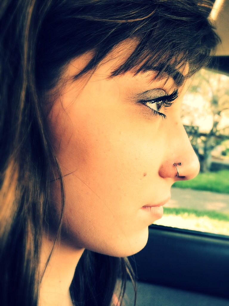 Two nose piercing  Double nose piercing  Hollyus  Pinterest  Double nose piercing
