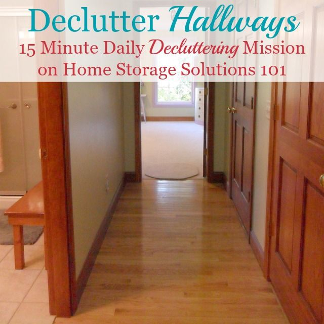 How To Get Rid Of Hallway Clutter Home Storage Solutions Declutter Declutter Your Home