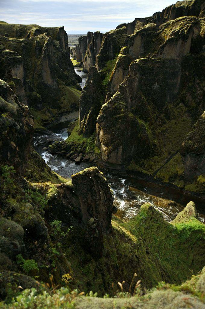 Fjaðrárgljúfur Canyon - Iceland