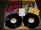 KISS ALIVE II LP Record MINT w/ Tattoos Insert & Booklet NBLP 7076 - &amp, 7076, Alive, BOOKLET, Insert, KISS, MINT, NBLP, RECORD, Tattoos