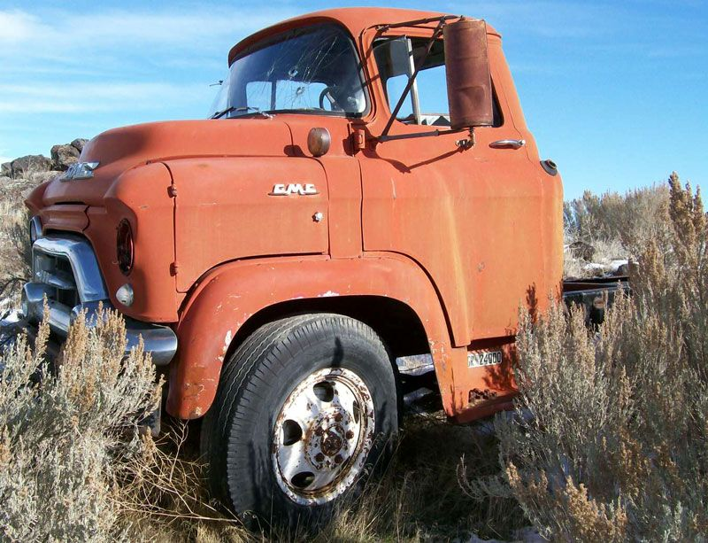 1957 GMC 350 LCF Low-Cab-Forward Tractor Truck GMC LCFs have that ...