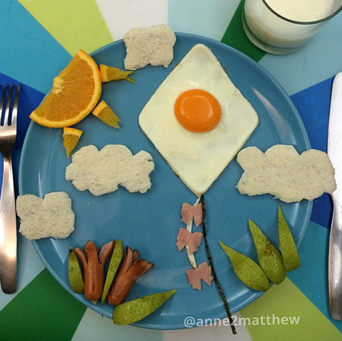 Mom Puts Together Adorably Creative Meals For Her Kids