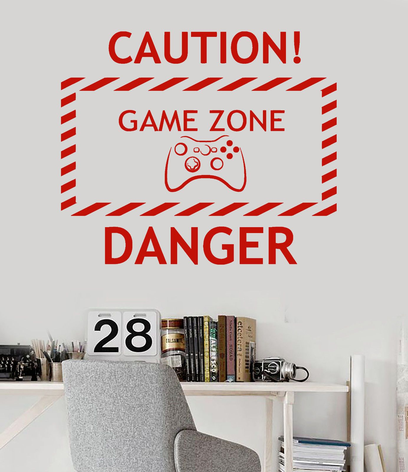 new home Vinyl Wall Decal Game Zone Video Game Teen Room Gaming Stickers  free shipping //Price: $11.54 & FREE Shipping // #gamergirl #gaming #video  ...