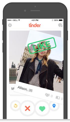 Tinder dating app ipad