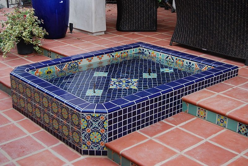 mexican tile for your next pool